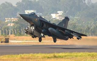 tejas commences operations from sulur air force station