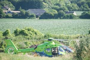 three children among the injured in school bus crash on a367 at dunkerton near bath
