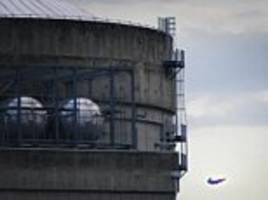 greenpeace fly superman drone into french nuclear power plant to show how easy they are to attack