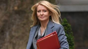 esther mcvey apologises to mps over universal credit claims