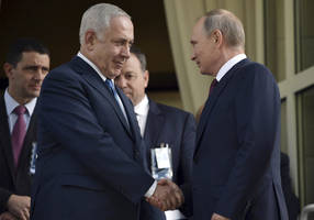 football diplomacy: netanyahu to attend world cup, meet putin in moscow