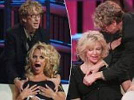 andy dick groped pamela anderson, courtney love and tommy lee