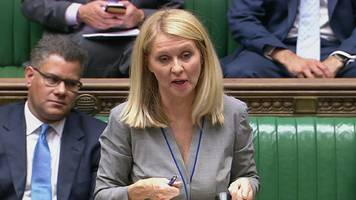 universal credit: labour says esther mcvey should resign