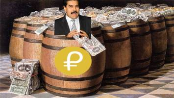 venezuela will use its shady oil-backed cryptocurrency to fund housing for homeless