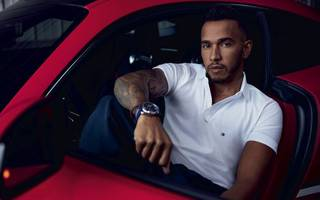 lewis hamilton may be about to swap the racing track for the fashion runway