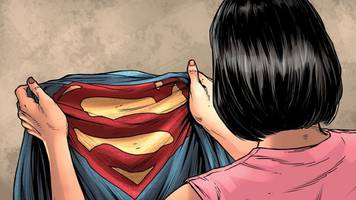 now we know why superman is wearing his underwear on the outside again