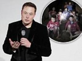elon musk sends boring company engineers to help thai cave rescuers