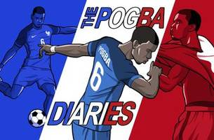the pogba diaries continues... it's not the last one. paul pogba checks in after france's win over uruguay