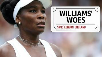 wimbledon 2018: venus williams is the latest top seed out of the tournament
