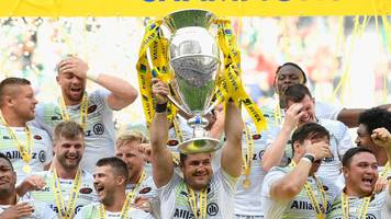 saracens start title defence at newcastle - premiership fixtures announced