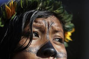 remote amazon tribe threatened by measles outbreak due to illegal mining
