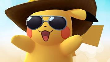pokémon go's anniversary event stars the cutest costumed pikachu yet