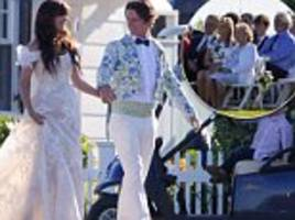 robert f kennedy iii and former cia operative amaryllis fox say 'i do' at beachfront wedding