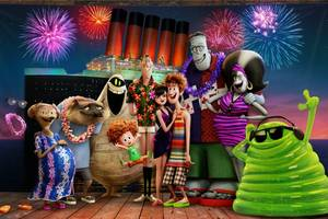 'hotel transylvania 3' film review: adam sandler's groovy ghoulies take a wacky vacation