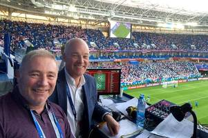 ally mccoist makes world cup revelation as scotland hero admits he's backing england