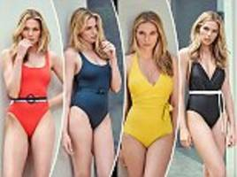 after this summer's status swimsuit?femail reveals the best belted one-pieces