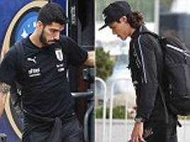 luis suarez and co look down in the dumps as uruguay leave russia after world cup exit