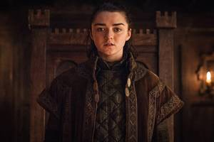 'game of thrones': does maisie williams' bloody farewell message reveal arya's final fate?