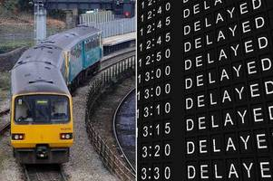 complaints rise 30% and arriva trains wales blames the weather