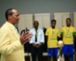 patrice motsepe instructs sundowns management to finalize percy tau's brighton & hove albion move