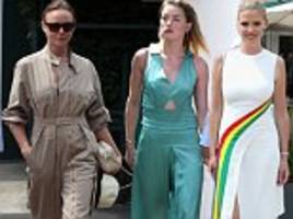 stella mccartney, amber heard and lara stone lead the wimbledon fashion