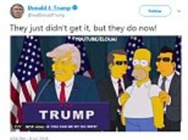trump tweets video montage of dozens of people saying he would never become president