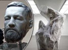 conor mcgregor to be gifted marble sculpture of himself worth £50,000 for his 30th