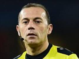 cuneyt cakir to referee england's world cup semi-final against croatia