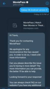 this conversation with moviepass on twitter shows just how frustrating its customer service can be