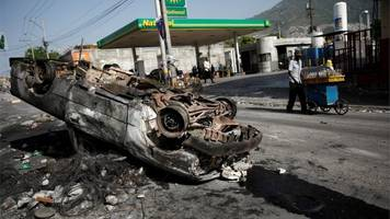 in pictures: why haitians have launched violent protests
