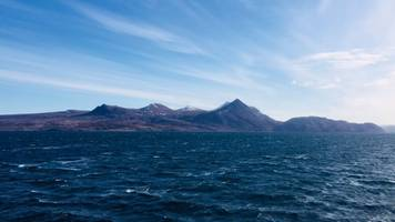 long-distance swimmer rescued crossing the minch