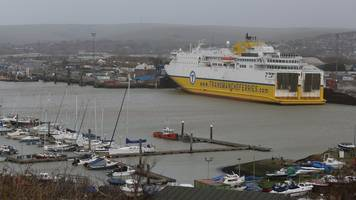 dfds ferries cancelled between newhaven and dieppe