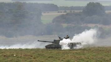 upset at army's live firing on salisbury plain causing fires
