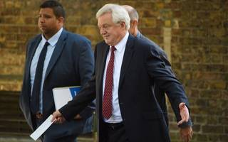 "david davis: may's brexit policy is ""sword of damocles"""