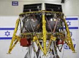 israel unveils plan to launch the 'smallest spacecraft ever to land on the moon'