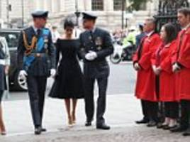Meghan Markle joins Royal family at Westminster Abbey