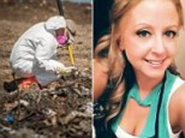 police zero in on landfill in hunt for missing mother who vanished in may