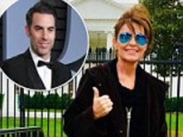 Sarah Palin says Sacha Baron Cohen pretended to be a wounded veteran for Who Is America interview