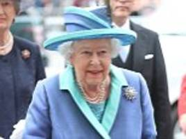 royal family's fab four joins queen for raf centenary service