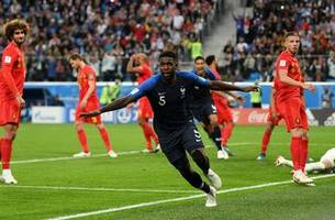 FOX Sports' Goal of the Day: Samuel Umtiti's goal sends France to the Final | 2018 FIFA World Cup™