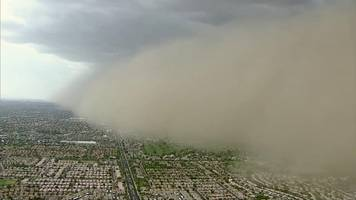 a dust storm hit central arizona this week