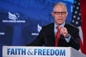 part of scott pruitt's legacy is how he changed the jobs of conservation groups