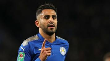 riyad mahrez: five great leicester city goals