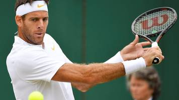 wimbledon 2018: 'that is phenomenal defence of the net!' - del potro wins a great point