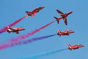 where you can watch the red arrows displays in summer 2018