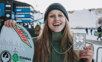 x games medalist julia marino talks about being a rising female snowboard star - at only 20 years old, marino has topped countless podiums, represented her country at the olympics, and is helping propel women's snowboarding.