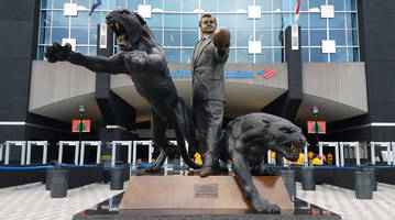 new panthers owner david tepper 'contractually obligated' to keep jerry richardson statue