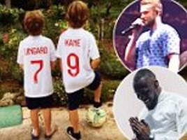 World Cup: Justin Timberlake, Elton John and Stormzy support England