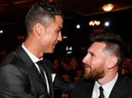 cristiano ronaldo is 'obsessed' with lionel messi, claims ryan giggs