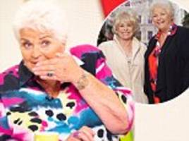 barbara windsor's alzheimer's battle: pam st clement gushes she's 'doing well' and is back to work